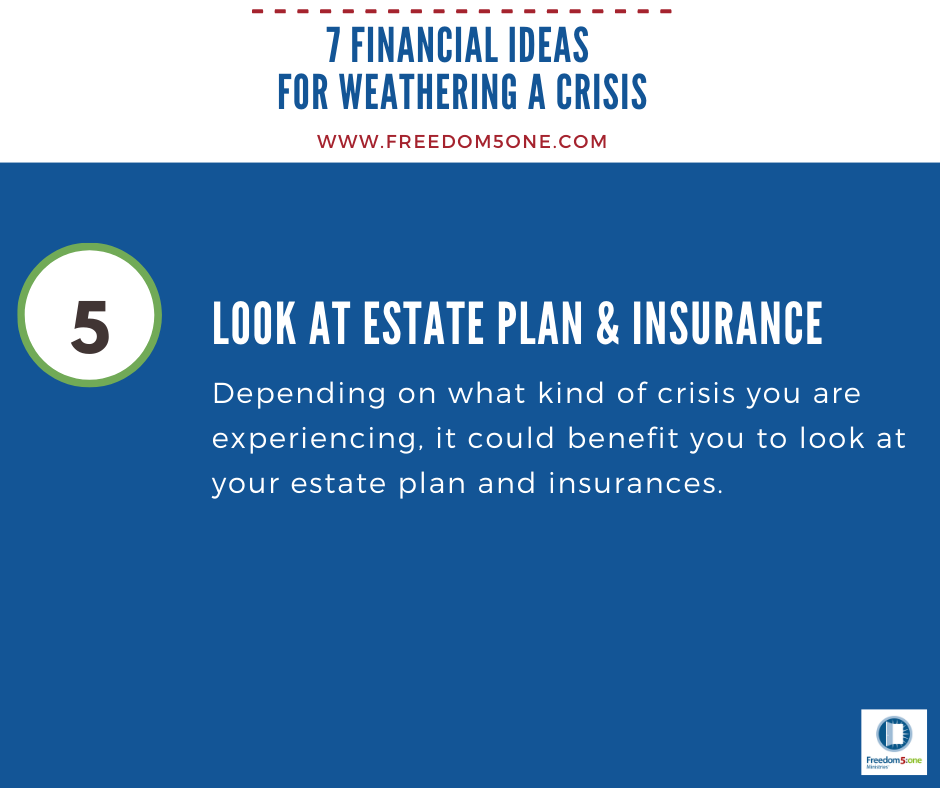 Step 5 Financial ideas for a Crisis